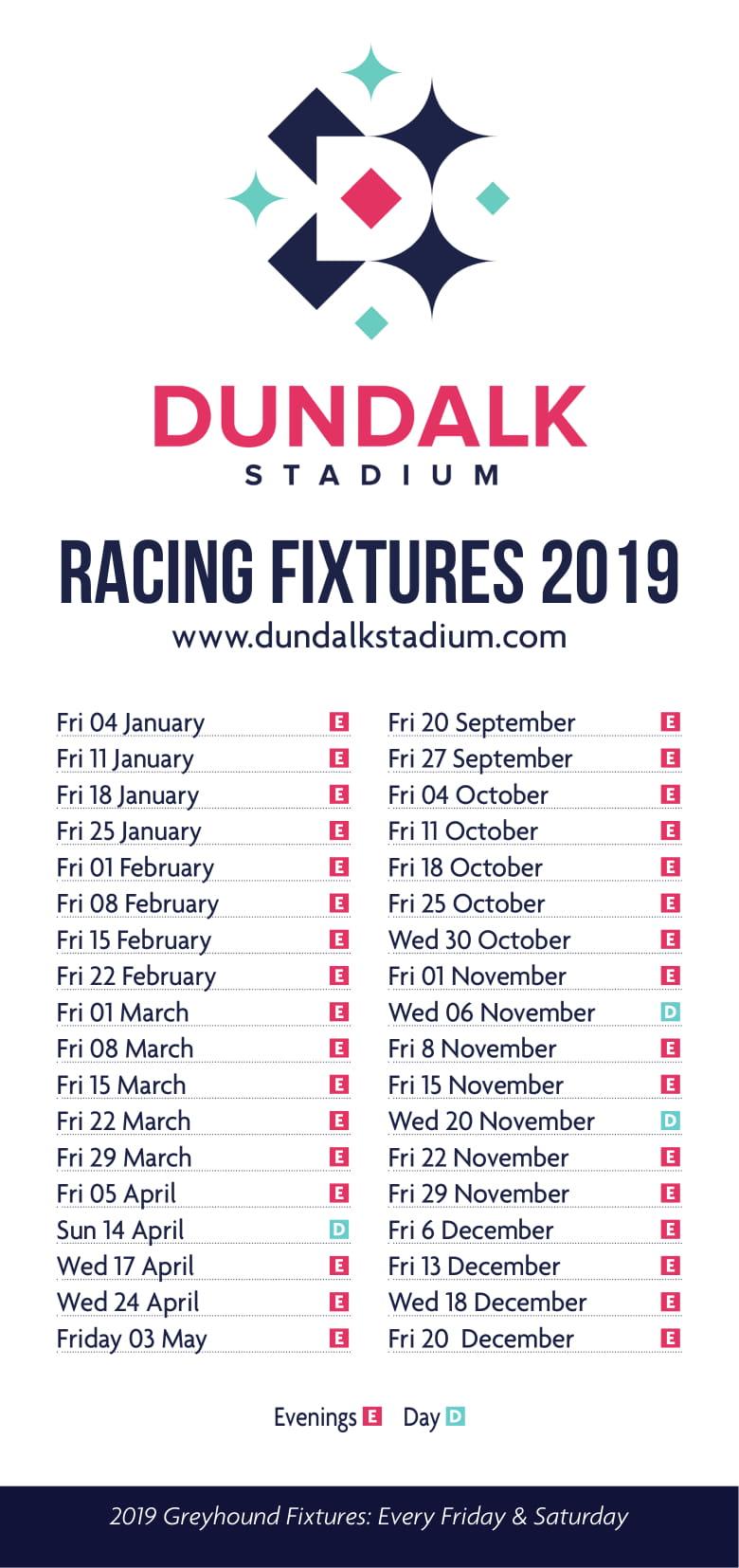 2019 horse fixture list